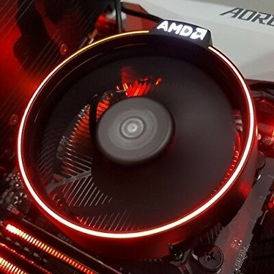 AMD Wraith Spire RGB LED Ring Gaming Spiele PC Kühler beleuchtet für AM4