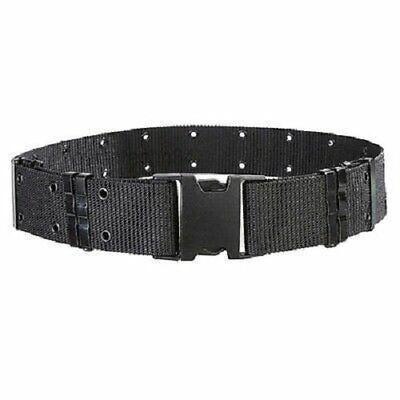 Police Security Tactical Combat Gear Black Utility Nylon Duty Belt Swat Black
