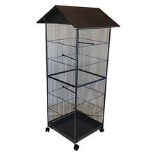 Brand New 4 Sided Steel Parrot Aviary Budgie Bird Cage Canary Auburn Auburn Area Preview