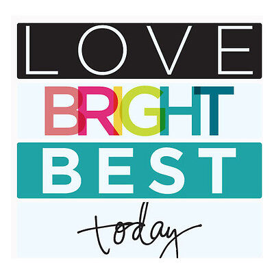 NEW  Heidi Swapp Lightbox Strips Bright Love Best 4/Pkg Event Photography