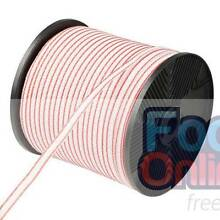 400m Roll Electric Fence Energiser Poly Tape -Free Delivery North Melbourne Melbourne City Preview