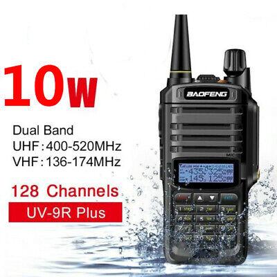Baofeng UV-9R Plus 10W VHF UHF Walkie Talkie Dual Band Handheld Two Way Radio US