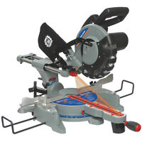 """10"""" Sliding Compound Miter Saw with Twin Laser Guide"""