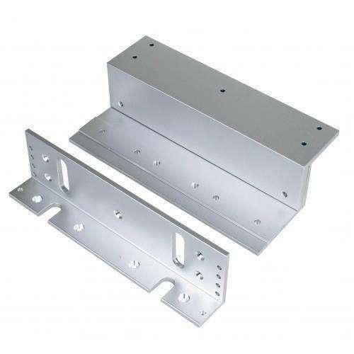 """Seco-Larm - """"Z"""" Brackets for 1200 lb Series Electromagnetic Locks E-941S-1K2/ZQ"""