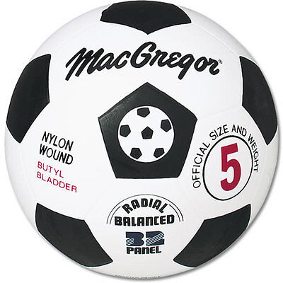 MacGregor® Rubber Soccer Ball Size 5 - Rubber Soccer Ball