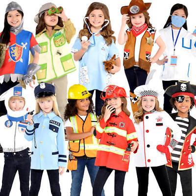Roleplay Girls Fancy Dress Book Day Week Occupation Uniform Childs Kids Costume](Occupation Fancy Dress)