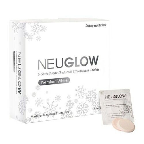 Neuglow L-Glutathione Premium White 28 Whitening effervescent tablets