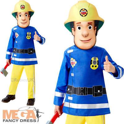 Fireman Sam Age 2-3 Boys Cartoon Fancy Dress Childs Firefighter Uniform Costume (Fireman Costume Age 2 3)