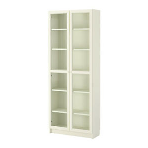 LOOKING FOR 2 IKEA Billy bookcases with doors