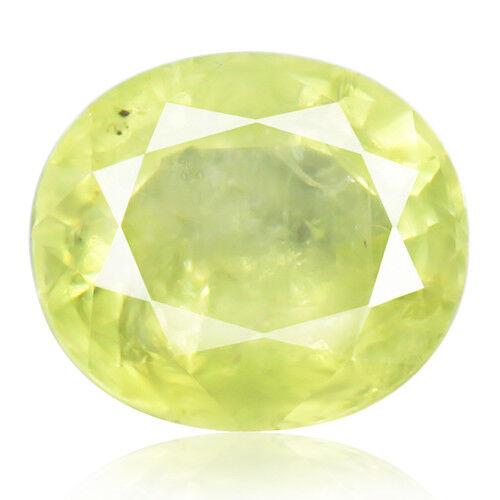 Tsavorite Family Garnet 8.30ct yellowish green color 100% natural earth mined