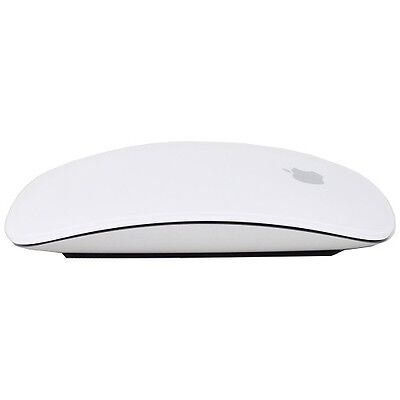 Original Apple Bluetooth Laser Multi-Touch Magic Mouse (White) MB829LL/A A1296 segunda mano  Embacar hacia Argentina