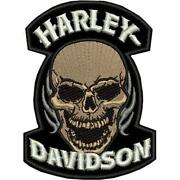 Harley Back Patch