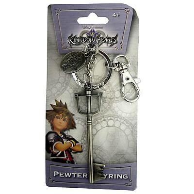 - Disney NEW * Sora's Sword Key Chain * Kingdom Hearts Pewter Metal Keychain Clip