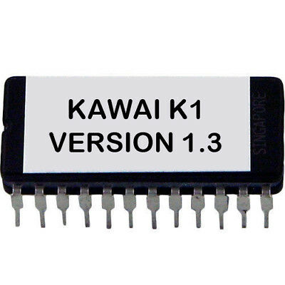 Kawai K1 Version 1.3 firmware OS update upgrade EPROM K-1 segunda mano  Embacar hacia Spain