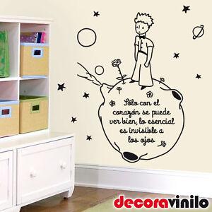 Vinilo decorativo de pared wall sticker el principito - Vinilo infantil el principito ...