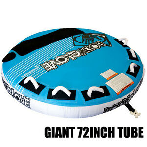 BODY GLOVE OVERDRIVE (3 PERSON) SURF WATER SKI TUBE BISCUIT INFLATABLE