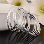 Womens Sterling Silver Bracelet