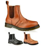 Mens Brogue Boots