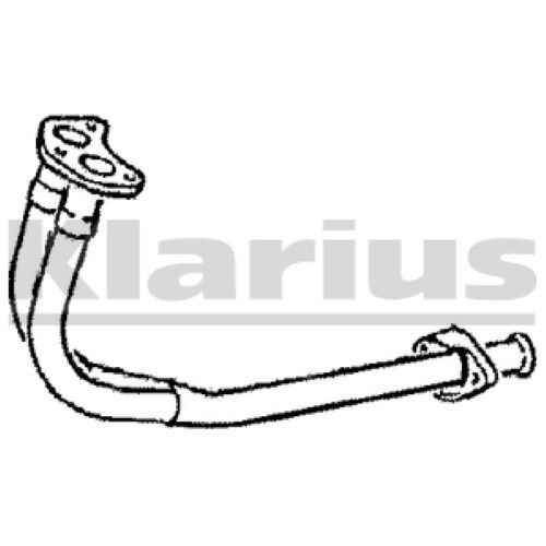 1x KLARIUS OE Quality Replacement Exhaust Pipe Exhaust For FORD Petrol