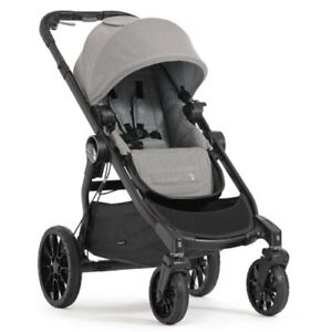 Baby Jogger City Lux slate stroller BNIB + 2nd seat