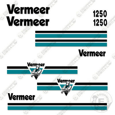 Vermeer Bc1250 Brush Chipper Decal Kit