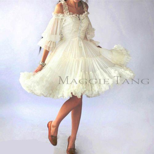 Vintage wedding dress xl ebay for Ebay vintage wedding dress