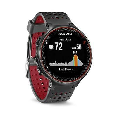 Garmin Forerunner 235 HRM GPS Sports Running Smart Watch - Red