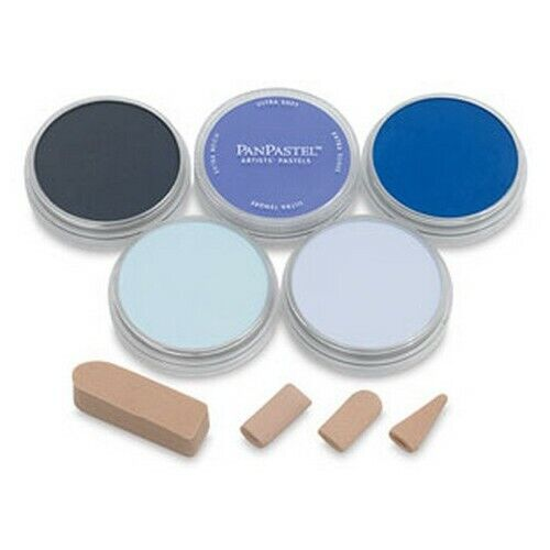 ARMADILLO ART & CRAFT 30055 PANPASTEL SET 5 COLOR BLUES