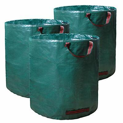 72 Gallons Leaf Bag Reusable Gardening Bags with Handles Self Collapsible Lawn and Yard Garden Waste Bag OldPAPA 2 Pack Garden Bags