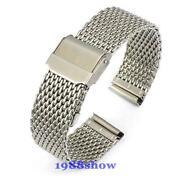 24mm Steel Watch Strap