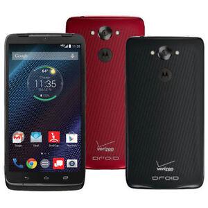Motorola Droid TURBO XT1254 4G LTE GSM SmartPhone Verizon + GSM UNLOCKED