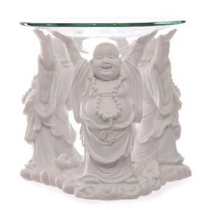 Laughing Buddha Oil Burner Large Figurine Ornament Statue