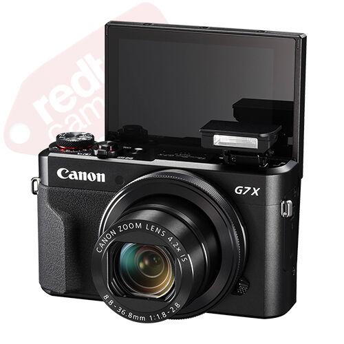 Canon PowerShot G7x Mark II 20.1MP Digital Camera 4.2x Optical Zoom Full-HD