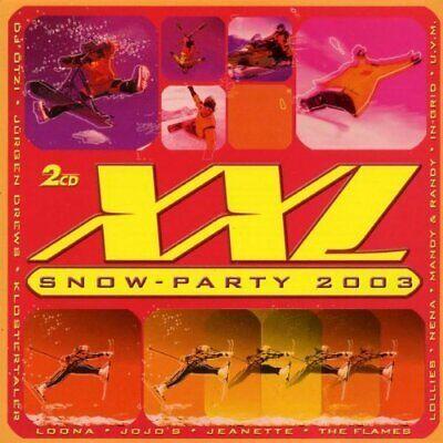 XXL Snow-Party 2003 Dj Ötzi, Jeanette, Groove Coverage, The Flames, Nen.. [2 CD] - Xxl Snow