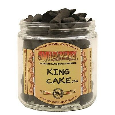 Wild Berry Incense Cones - KING CAKE - 20 CONES - NEW SCENT