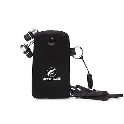 iPhone 6 6S PLUS SE 5S FONUS HEADPHONE STORAGE CASE BAG W NE