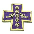 Purple Enamel Fashion Pins