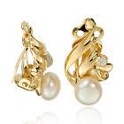 Butterfly Pearl Fashion Earrings