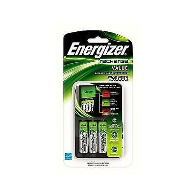 Energizer Value Charger with AA Rechargeable NiMH Batteries CHVCMWB-4, Best Deal