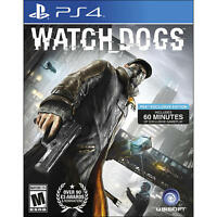 Watch Dogs PS4 - New, open case, Signature Edition Playstation 4