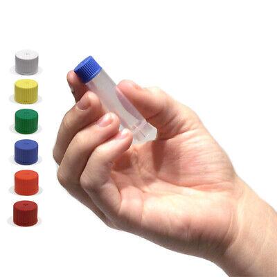 2.5ml Storage Vials With Caps Non-sterile White Case 1000
