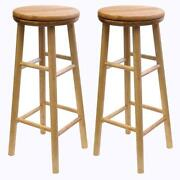 Bar Stool Wood Swivel 30