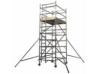 8.2 meter aluminium scaffold tower hire