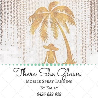 There She Glows Mobile Spray Tanning By Emily