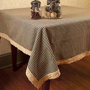 Primitive Kitchen Table Linens