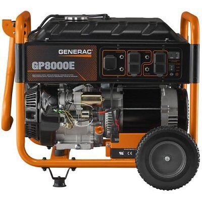 Generac Gp8000e 8000 Watt 420cc Factory Reconditioned Generator 6931-r