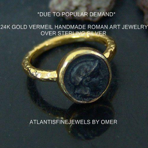 Roman Coin Ring Ebay