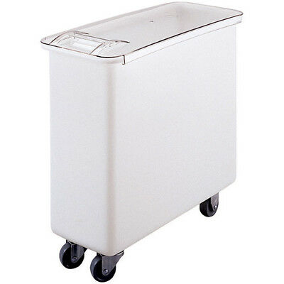 Mobile Ingredient Bin Flat Top 27 Gallon Capacity