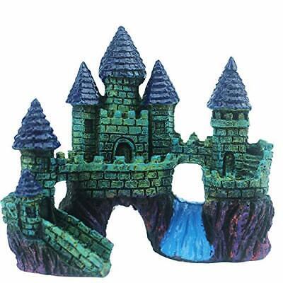 Aquarium Resin Castle Decoration For Fish Tank Castle Cave Hideouts Accessories