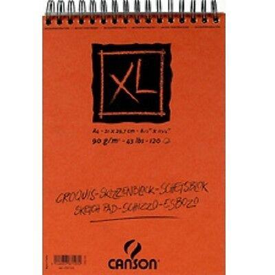 Canson Skizzen- und Studienblock XL, A4, 120 Blatt Skizzierblock, Skizzenblock